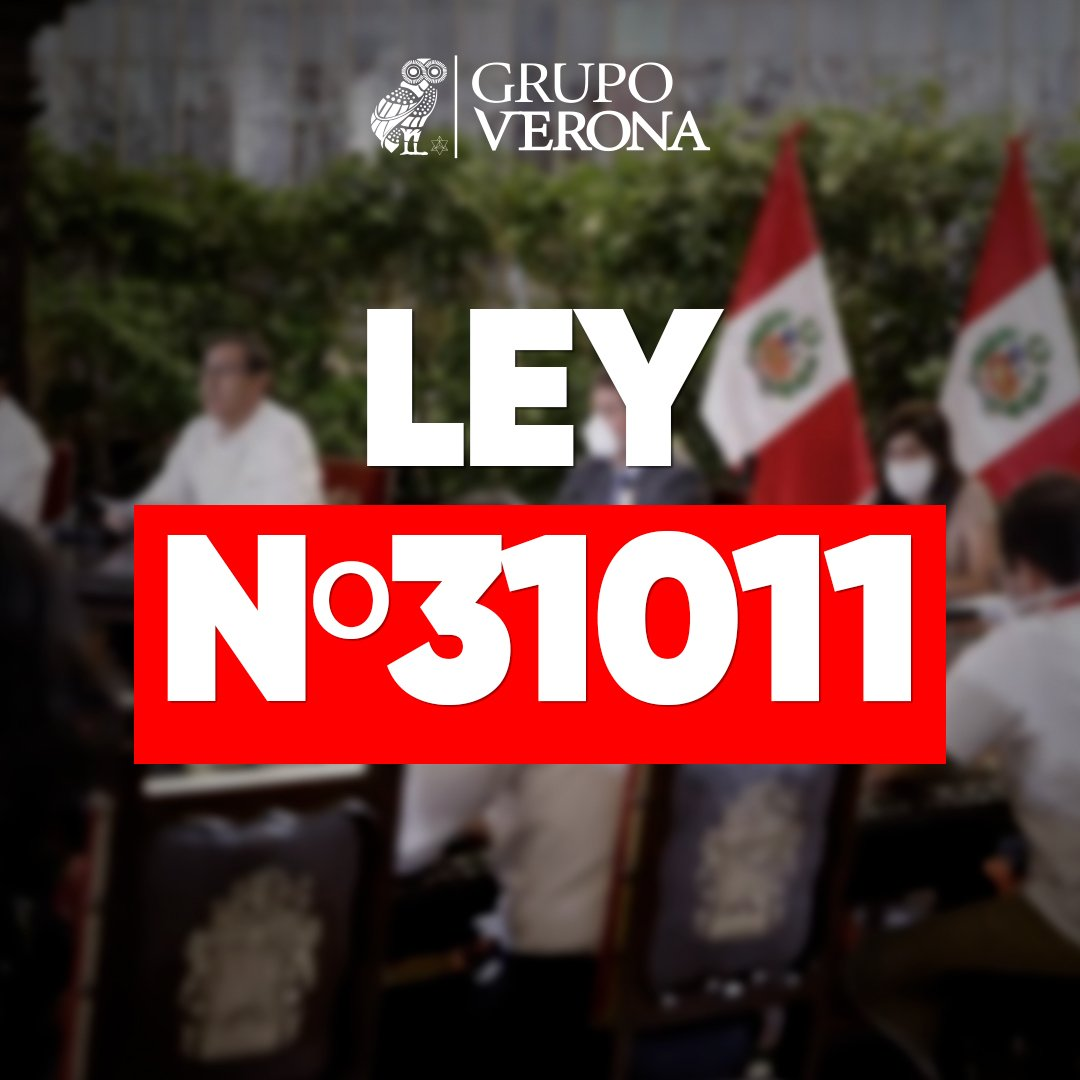 Ley N°31011