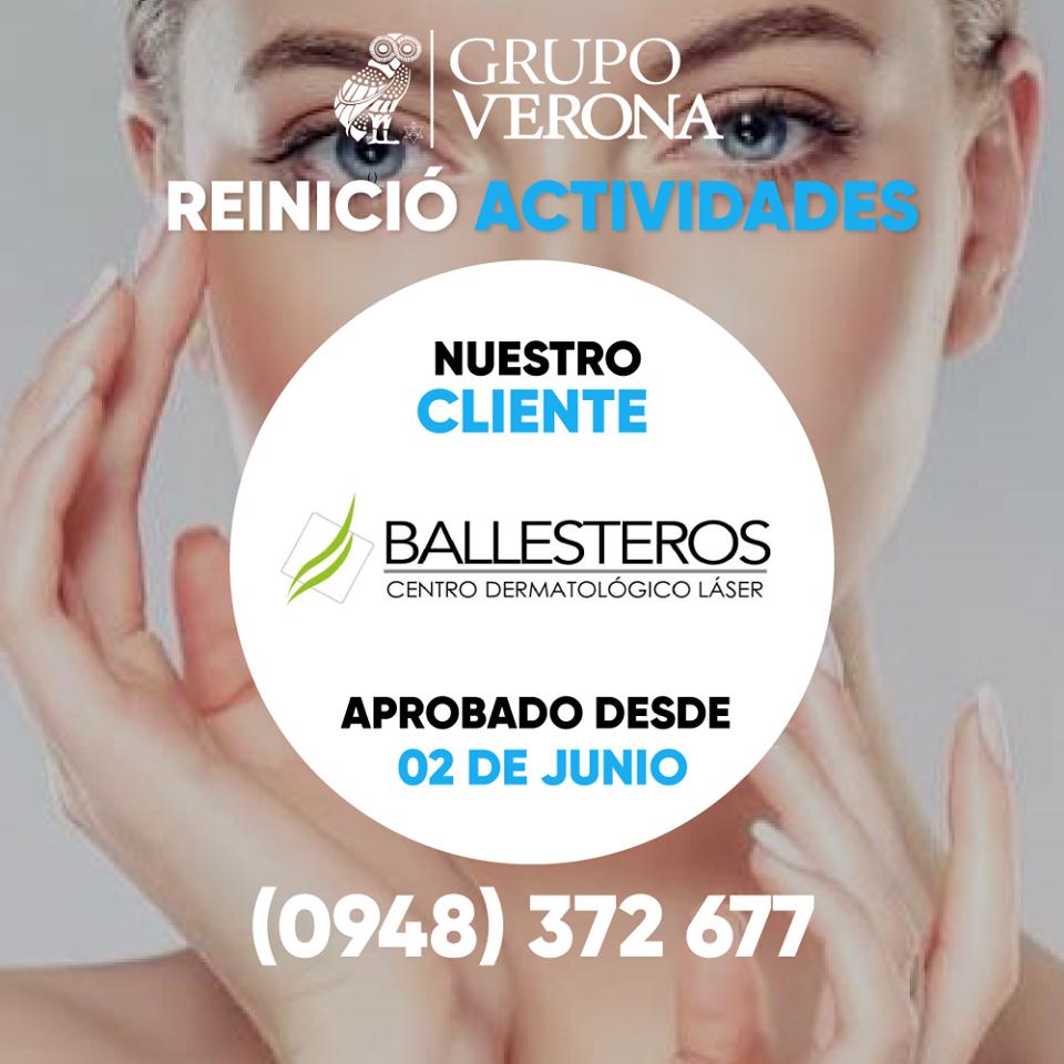 BALLESTEROS | Centro Dermatológico Láser