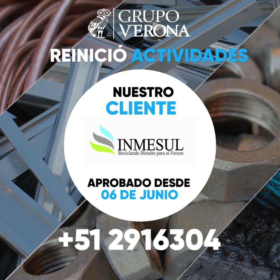 INMEASUL | Reciclando Metales Para El Futuro