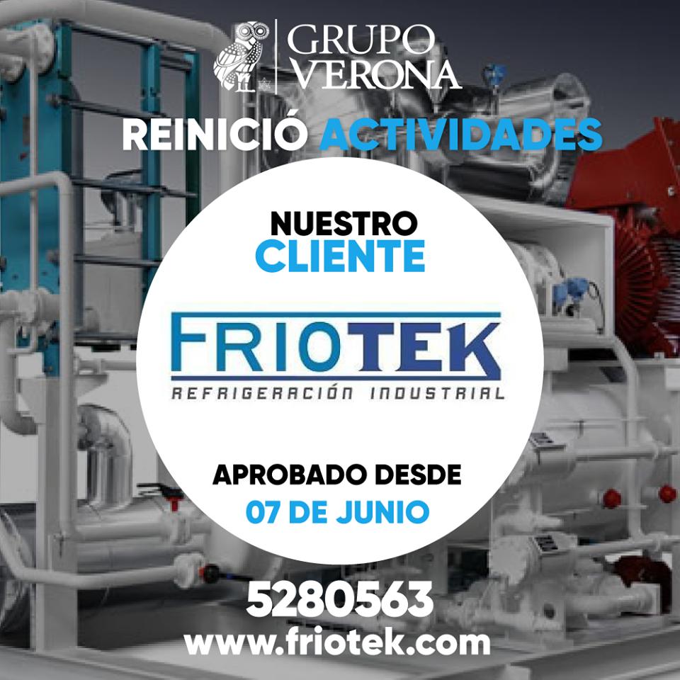 FRIOTEK | Refrigeración Industrial