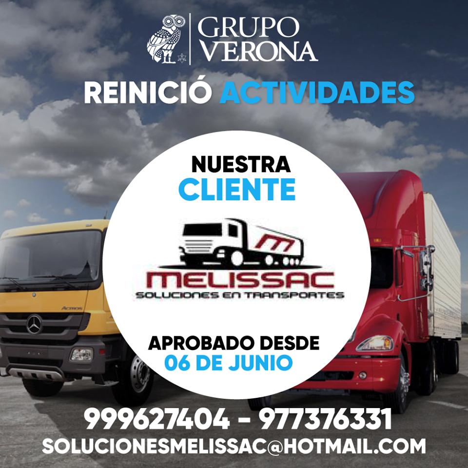 MELISSAC | Solución En Transportes