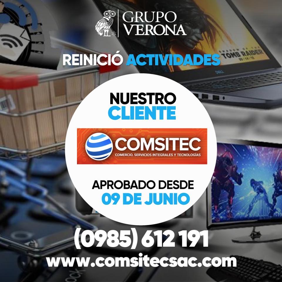 COMSITEC | Comercio, Servicios Integrales Y Tecnologías