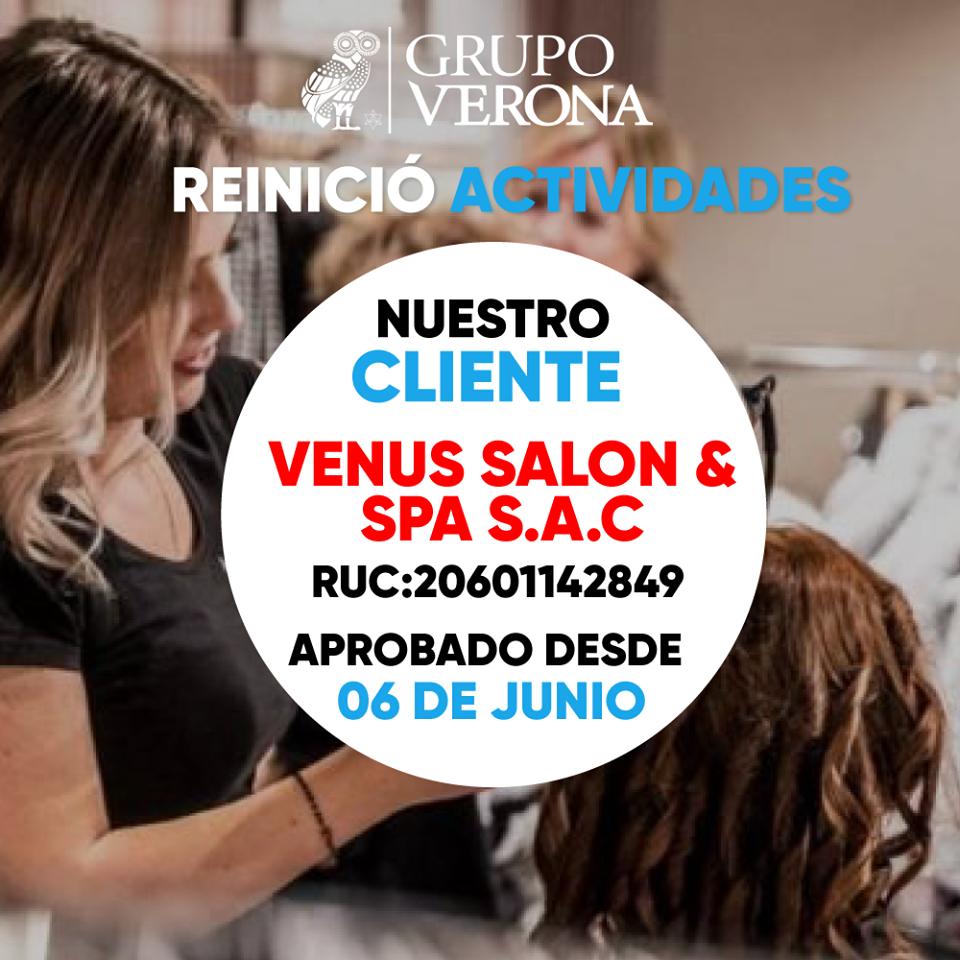Venus Salón & Spa SAC