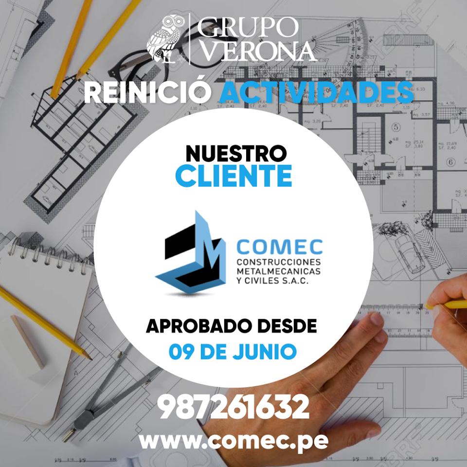 COMEC   Constructores Metalmecanicas Y Civiles SAC