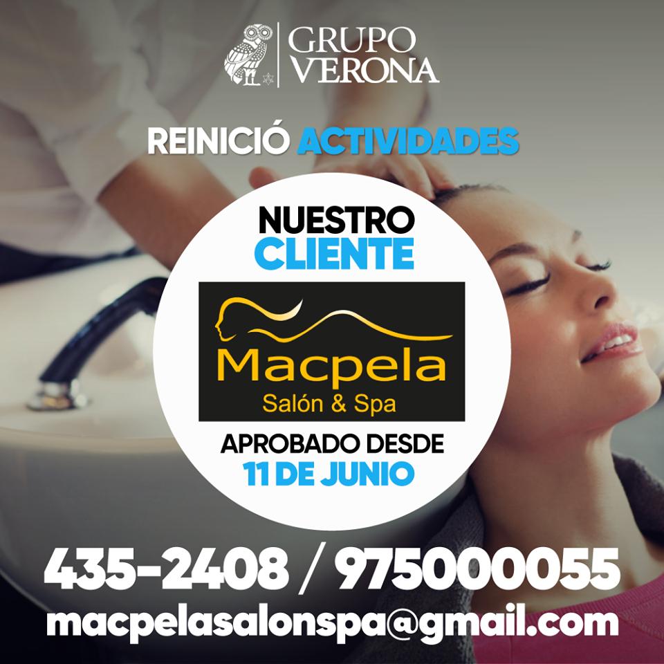 Macpela | Salón & Spa