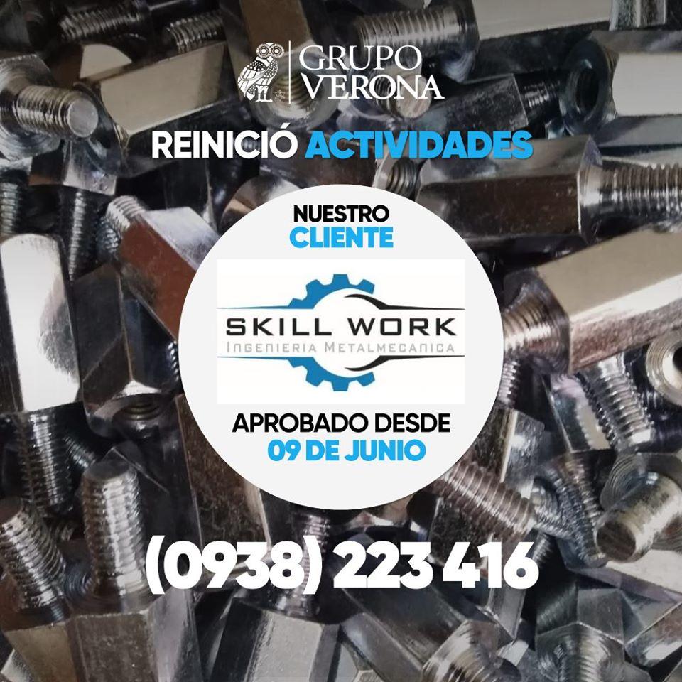 Skill Work   Ingeniería Metalmecanica