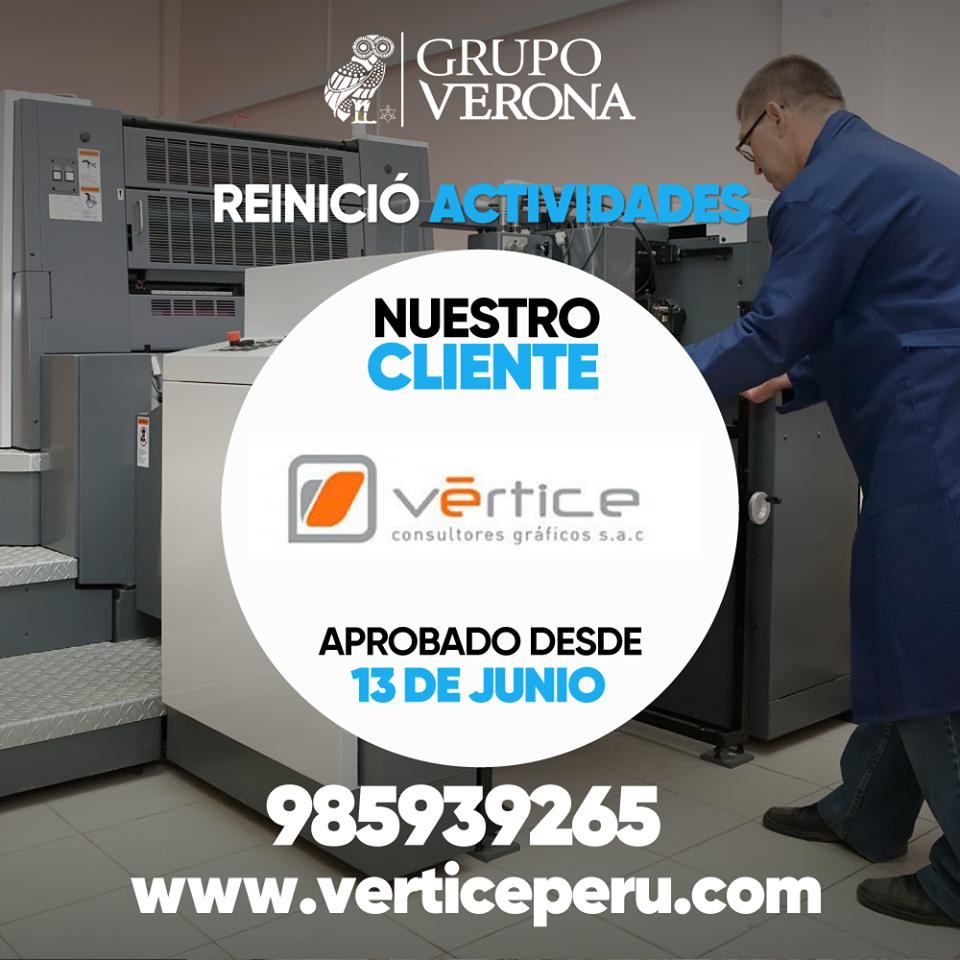 Vértice | Consultores Gráficos SAC