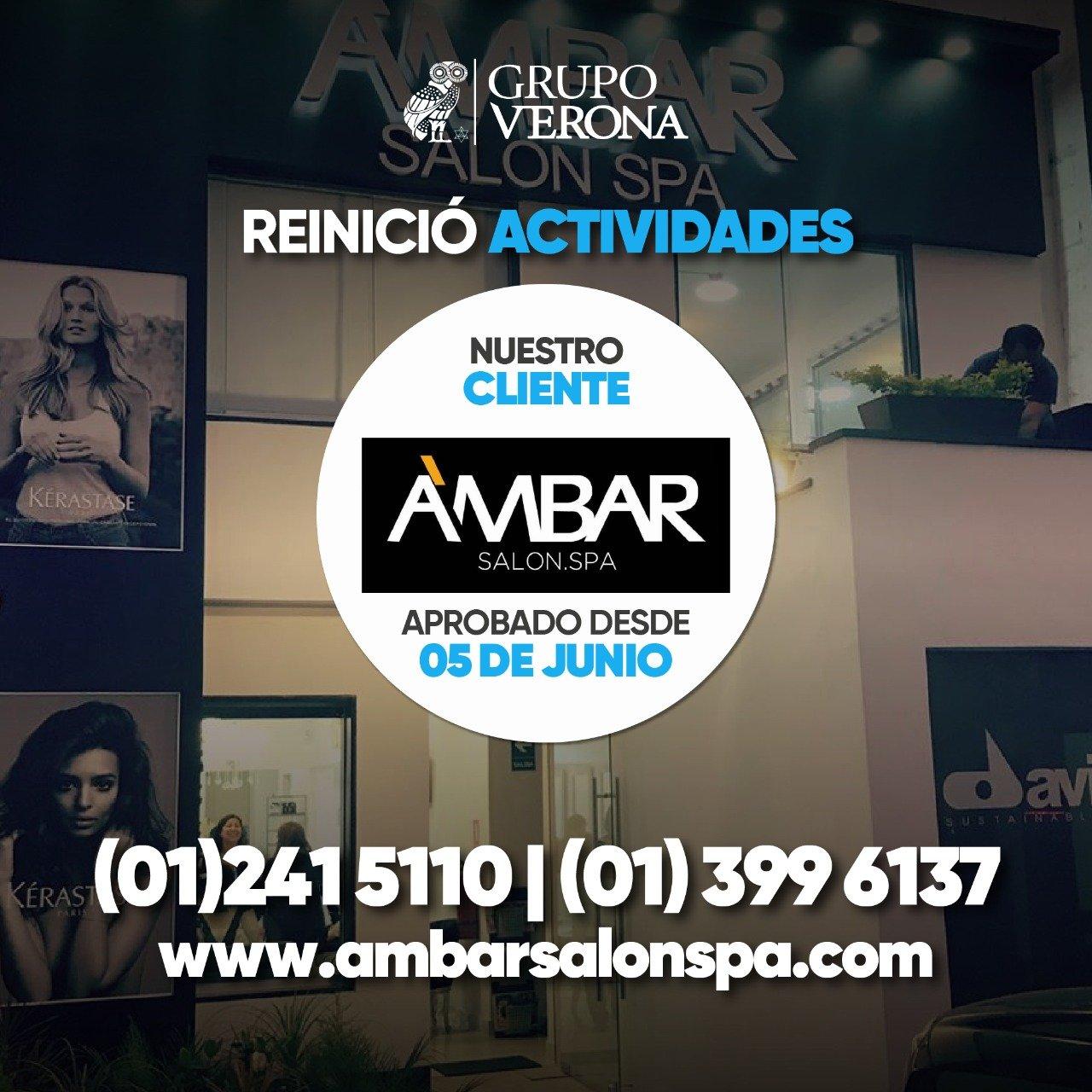 AMBAR | Salón Spa