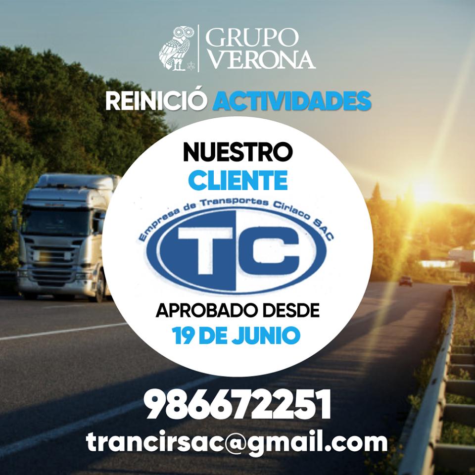 EMPRESA DE TRANSPORTES CIRIACO SAC