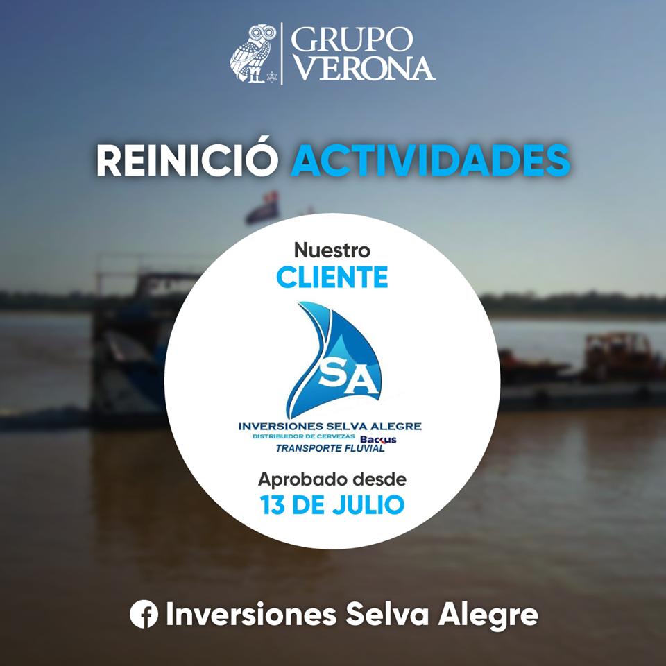 Inversiones Selva Alegre E.I.R.L.