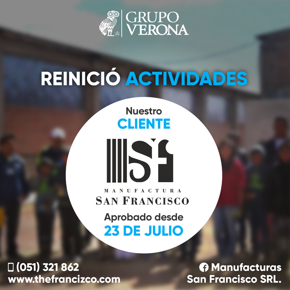 Manufacturas San Francisco SRL.