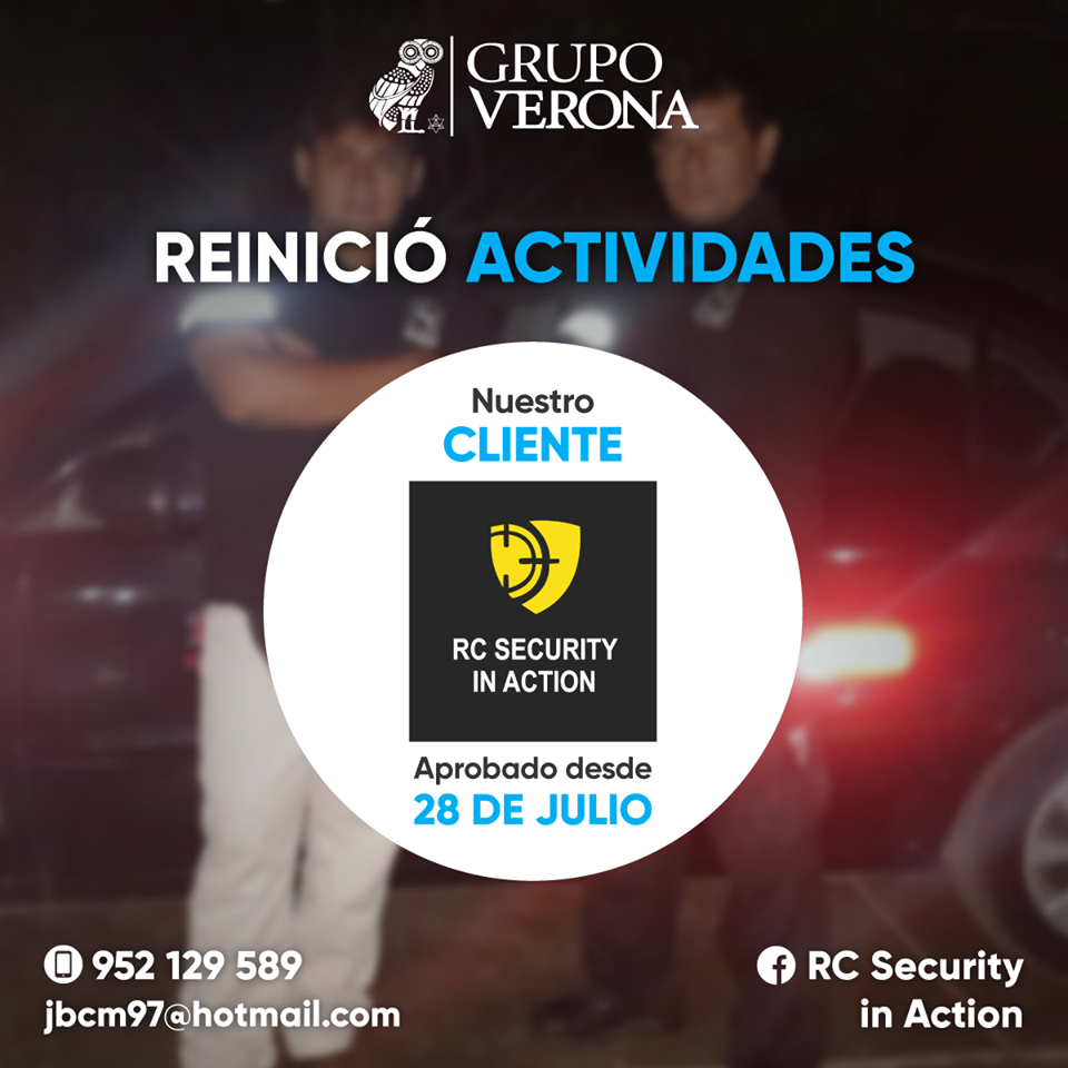 Rc Security In Action S.A.C.