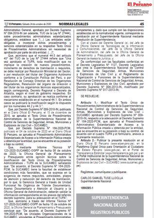 Formatos Del Servicio De Publicidad Registral En Línea