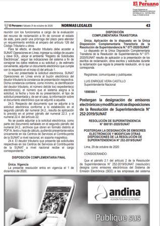 Designación De Emisores Electrónicos Del SEE