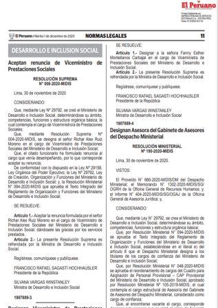 Decreto Supremo 186-2020-PCM