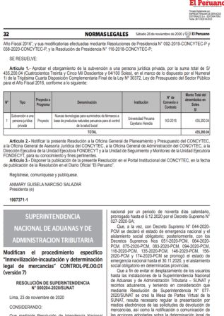 Resolución 000204-2020/SUNAT
