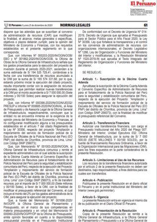 Resolución Ministerial 968-2020-MTC