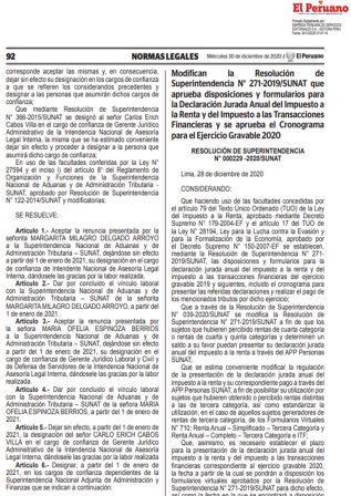 ResoluciónN°000229-2020/SUNAT