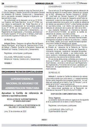 Resolución De Superintendencia 000235-2020/SUNAT