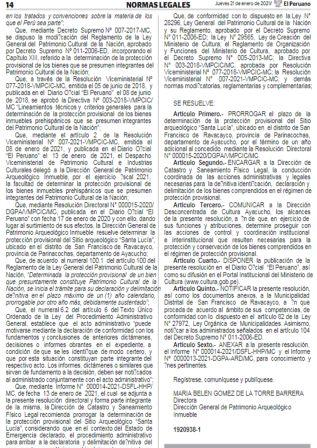 Decreto Supremo 006-2021-EF