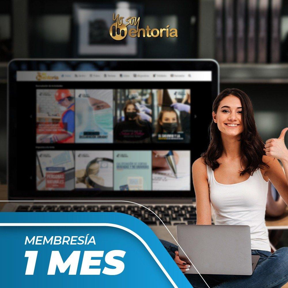 Membresia 1 Mes