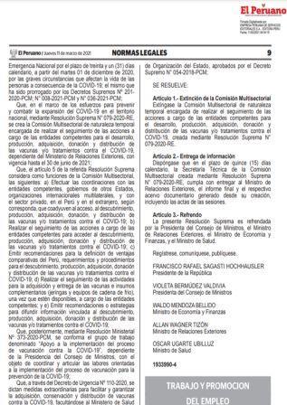 Decreto Supremo N°004-2021-TR
