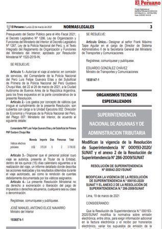 ResoluciónN°000042-2021/SUNAT