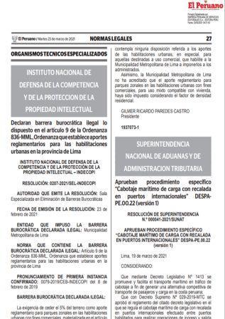 Resolución De Superintendencia N°000041-2021/SUNAT