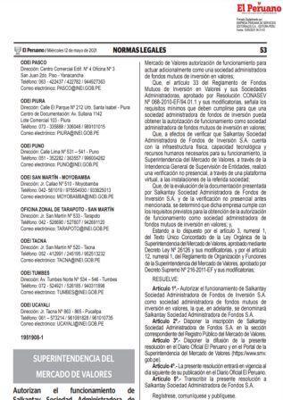ResoluciónN°000067-2021/SUNAT