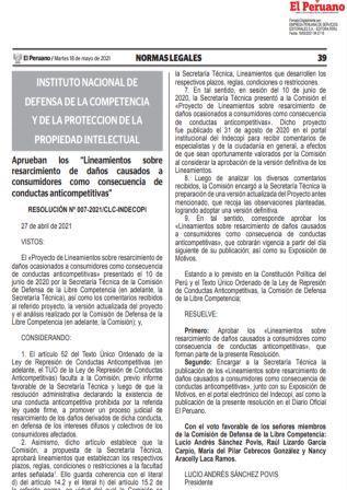 ResoluciónN°007-2021/CLC-INDECOPI