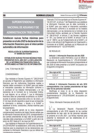 ResoluciónN°000069-2021/SUNAT