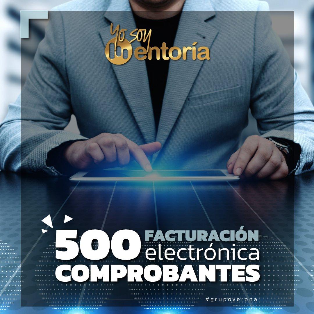 Facturación Electrónica | 500 Documentos