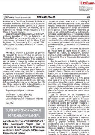 ResoluciónN°158-2021-SUNAFIL
