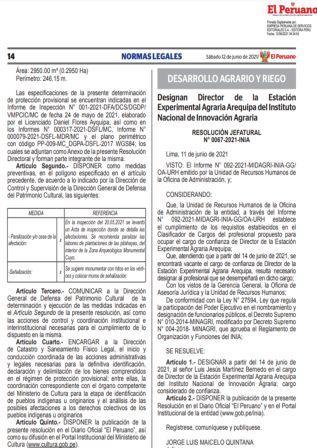 Decreto Supremo N°144-2021-EF