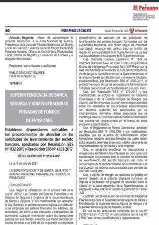 ResoluciónSBS N°01973-2021