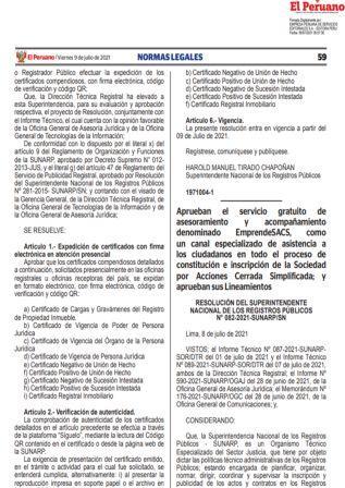 Resolución 082-2021-SUNARP/SN