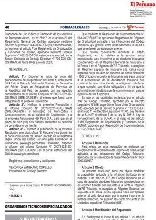 ResoluciónN°000078-2021/SUNAT