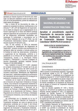 ResoluciónN°000106-2021/SUNAT
