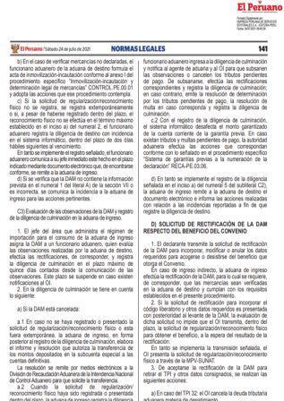 Resolución N°000107-2021/SUNAT