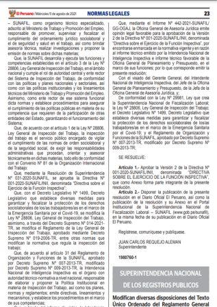 Resolución N°104-2021-SUNARP/SN