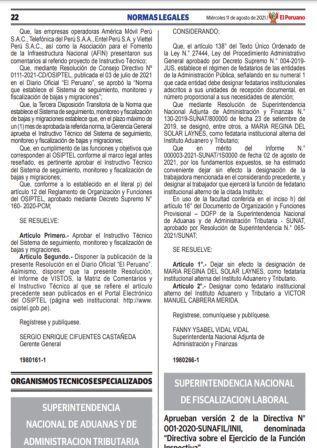 Resolución N°216-2021-SUNAFIL
