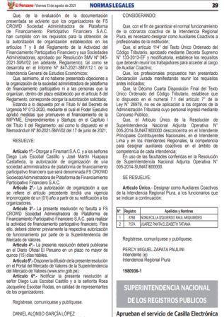 Resolución N°106-2021-SUNARP/SN